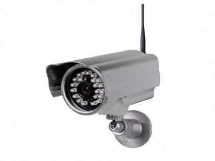 Plug & Play Kamera innen/außen, 20m Nachtsicht, Bewegungssensor, App