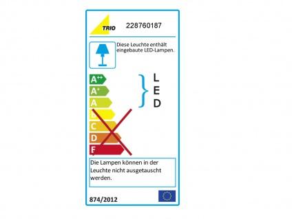 Moderne LED Außenwandleuchten in Grau - 2er Set Terrassenbeleuchtung Wandlampen - Vorschau 3