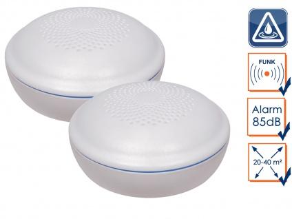 2er Set Funkvernetzbarer Wassermelder Wasserwächter für ELRO Connects - Küche