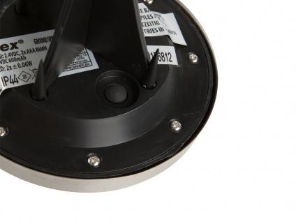6er-Set LED Solarstrahler, Edelstahl Dämmerungssensor Erdspieß IP44 - Vorschau 4