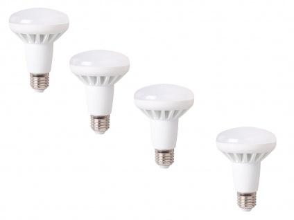 4er-Set LED Leuchtmittel warmweiß, 10W, 650 Lumen, E27, 3000 Kelvin