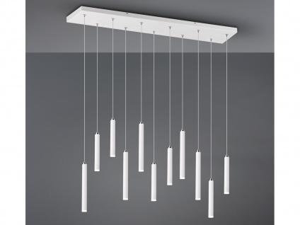 LED Pendelleuchte Weiß matt mit 3 Stufen Dimmer - optimale Beleuchtung Esstisch