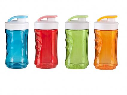 4er Set Ersatzbehälter / Trinkflasche für Smoothie Maker Mixer 300ml, DOMO - Vorschau 2