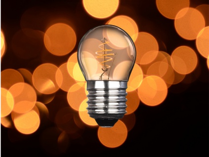 3x LED Leuchtmittel Globe 3 Watt 150 Lumen 2000 Kelvin E27-Sockel Filament LED - Vorschau 5