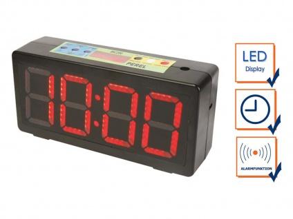 Chronometer / Uhr für Sportwettkämpfe mit Countdown Stoppuhr Intervallzeit Alarm