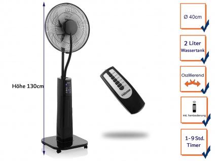 TRISTAR Verdunstungskühler Standventilator mit Kühlfunktion Fernbedienung, Timer