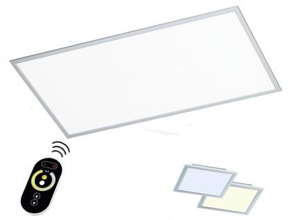 LED Deckenlampe 60x120cm Paneel flach mit Fernbedienung Farbtemperatur & Dimmen