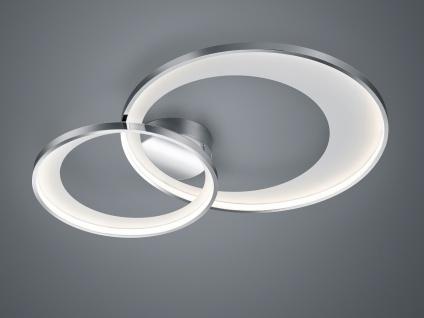Ausgefallene LED Flurbeleuchtung - coole Ringleuchte Deckenlampe für große Räume
