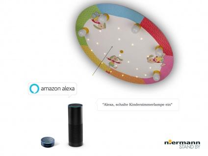 Deckenleuchte rund Zugschalter für LED-Schlummerlicht Amazon Echo kompatibel