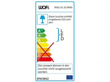 Große runde LED Deckenleuchte mit Metallschirm schwarz - 2er Set fürs Wohnzimmer - Vorschau 3