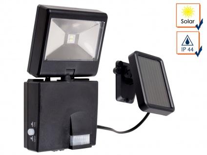 Solar LED Fluter mit 120° Bewegungsmelder, 80 Lumen, SAMSUNG LEDs