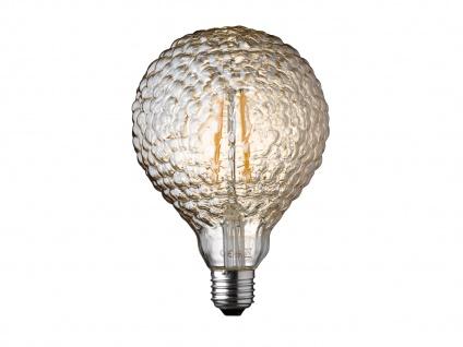FILAMENT LED Leuchtmittel Wellen-Struktur 4 Watt, 300 Lumen, 1800 Kelvin, E27 - Vorschau 2