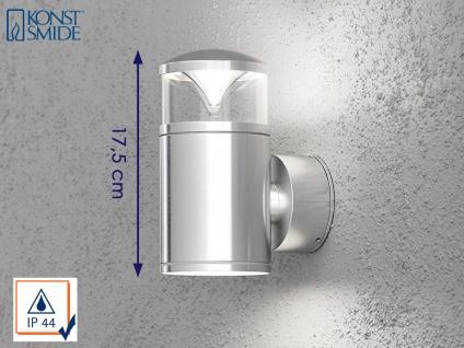 Konstsmide Energiespar Außenwandleuchte MONZA, Wandlampe Uplight Downlight IP44