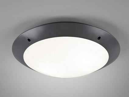 Außenleuchte Anthrazit Deckenlampe Wandlampe Fassadenlampe Gartenlampe mit Strom