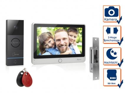 Video Türsprechanlage mit Türöffner für Einfamilienhaus - RFID Zugangssystem