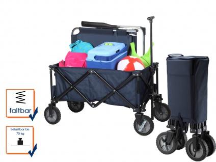 Bollerwagen faltbar/klappbar, Handwagen Transportkarre Kinder Transportwagen