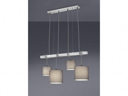 LED Pendelleuchte Stoffschirme & Holzbalken Hängelampen für über Esszimmertisch