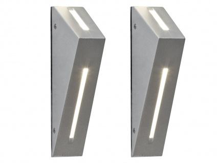2er-Set Up/Down Außenwandleuchten IMOLA, 6 Watt HP-LEDs, IP44 - Vorschau 2