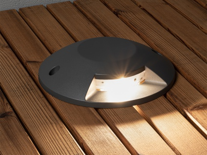 LED Bodenaufbaustrahler Bodenspots Aussenbereich Aufbaustrahler anthrazit IP65