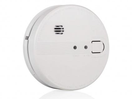 Rauchmelder vernetzt mit Kabel & Batterie - Lebensretter in Treppenhaus & Küche