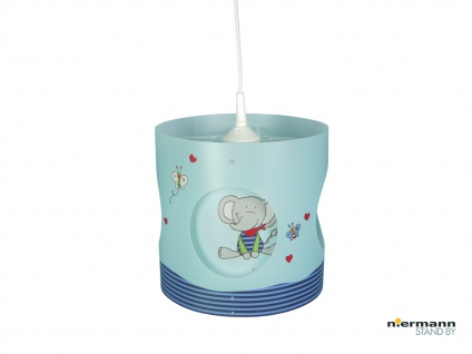 Kinder Pendelleuchte drehend Lampenschirm Lolo Lombardo Kinderzimmer Lampe Decke
