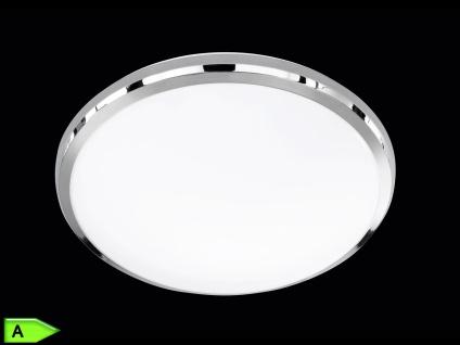 TRIO LED-Deckenleuchte, ink. 12W SMD-LED, 700Lm, Ø 31cm, Chrom