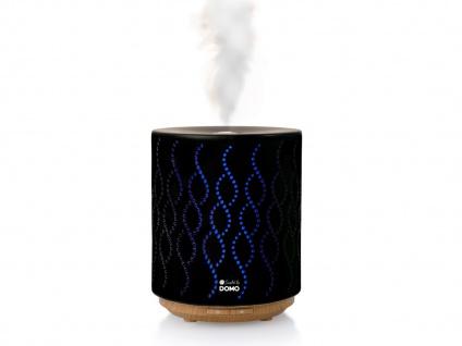 Duftzerstäuber mit LED Farbwechsler Aromatherapie Luftbefeuchter Duftlampe 200ml