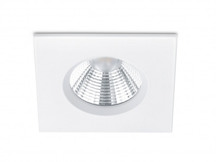 LED Einbaustrahler Decke eckig dimmbar Weiß matt 5, 5W moderne Deckenbeleuchtung