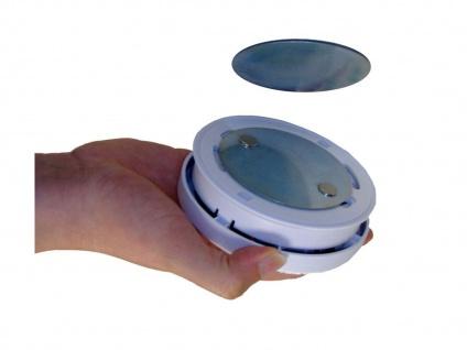 8er-Set Rauchmelder mit Magnethalter, Batteriewarnung & Testtaste, EN14604 - Vorschau 4