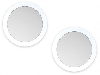 2er Set LED Außen Wand- & Deckenlampen weiß mit Bewegungsmelder, Smartphone App