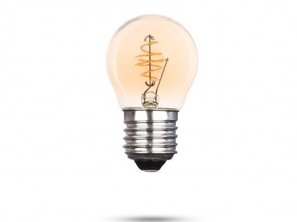 LED Leuchtmittel Globe 3 Watt, 150 Lumen, 2000 Kelvin, E27-Sockel Filament LED - Vorschau 2