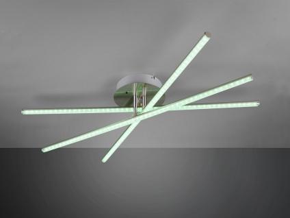 LED Deckenleuchte STRADA mit RGBW Farbwechsler & Fernbedienung 3 Arme schwenkbar - Vorschau 5
