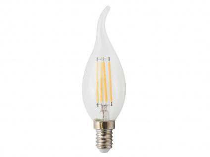 5er-Set FILAMENT-LED Kerze E14, 4 Watt, 400 Lumen, 2700 Kelvin, warmwei - Vorschau 3
