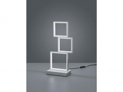 Moderner Fensterbank Tischleuchter, große Nachttischlampe für Jugendzimmer eckig - Vorschau 1