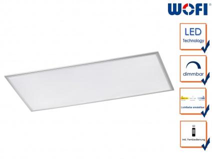 Flache LED Deckenleucthe 60x120 cm Fernbedienung für Dimmer & Farbtemperatur