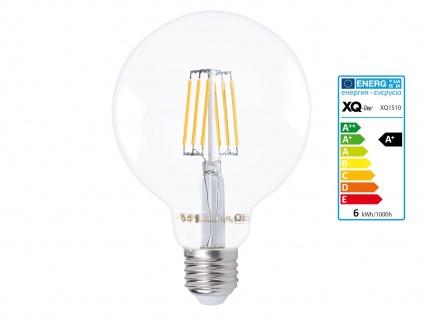 Filament LED Leuchtmittel Globe 6 Watt warmweiß, E27, 600 Lumen