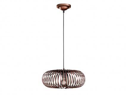 Modernes Pendel für Innen -Wohnzimmerlampe & Schlafzimmerlampe, Antik Look Kupfer