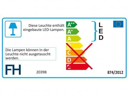 LED Luxus Deckenleuchte silber antik 50cm mit Fernbedienung Dimmen & Farbwechsel - Vorschau 2
