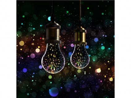LED Deko Leuchtmittel Birne E27, Stimmungsleuchtmittel 3D-Effekt, Partylicht - Vorschau 3