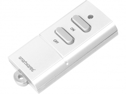 SmartHome Mini Funkfernbedienung Fernbedienung für Schlüsselbund 6 Empfänger
