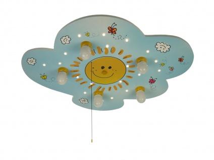 LED Kinder Deckenleuchte SUNNY Sternenhimmel Zugschalter für LED-Schlummerlicht