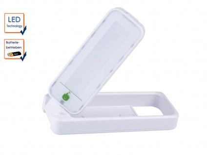 Drehbare Touch LED-Leuchte batteriebetrieben, ideal als Nachtlicht Notlicht