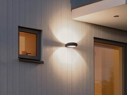 Außenwandleuchte ROVIGO, anthrazit, 5 Watt HP-LED, 350 Lumen, 3000K - Vorschau 5