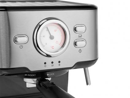 Siebträger Espresso & Kapselmaschine mit Milchaufschäumer für 1 oder 2 Tassen - Vorschau 5