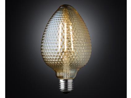 FILAMENT LED Leuchtmittel Zapfenform 4 Watt, 300 Lumen, 1800 Kelvin, E27-Sockel - Vorschau 3