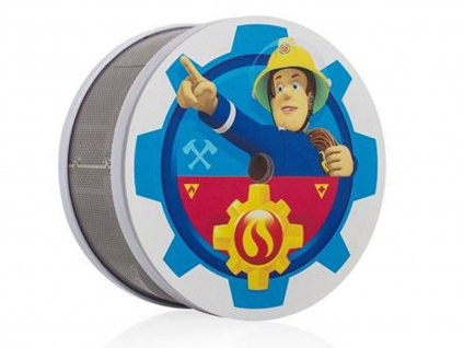 Rauchmelder Feuerwehrmann Sam mit 10 Jahres Batterie, Feueralarm Kinderzimmer