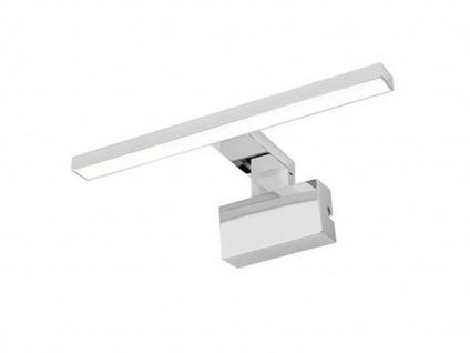 Spiegelleuchte in Chrom - LED Badezimmerlampe, Wandlampe, Schrankleuchte für Bad