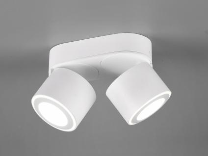 LED Deckenstrahler 2-flammig Weiß schwenkbare Deckenlampen für Flur und Diele - Vorschau 1