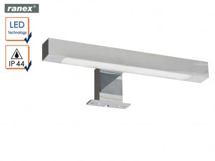 Moderne, Chrom glänzende LED Spiegelleuchte REGGIANA fürs Badezimmer, Badlampe