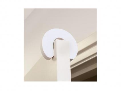 2x Türstopper, verhindert das Einklemmen, Kindersicherheit, Zugluftschutz - Vorschau 3
